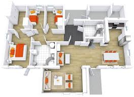 modern floor plans custom house floor with roomsketcher modern house floor plans