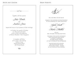 Wedding Card Examples Wording Samples For Wedding Invitations Handsmaden