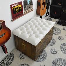 how to make a tufted ottoman from a coffee table home decorating