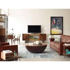 Half Moon Sofa Tables by Rod Rustic Pieced Wood Half Moon Coffee Table Kathy Kuo Home