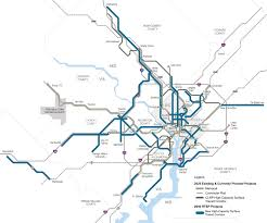 Washington Metro Map by Planitmetro 2013 December