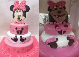 minnie mouse cake this bakery s custom minnie mouse cake gets an a for effort