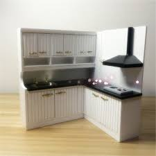 dollhouse furniture kitchen doub k 1 12 white miniature range hoods kitchen sets dollhouse