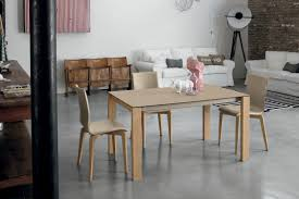 contemporary dining table porcelain stoneware laminate