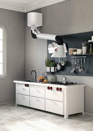 kitchen stainless steel oven vent with integrated kitchen