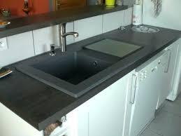 plan de travail cuisine gris anthracite evier cuisine gris evier cuisine gris anthracite evier