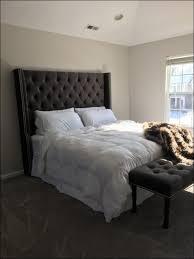 Leather Tufted Headboard Bedroom Fabulous Leather Upholstered Headboard King Fabric