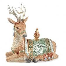 fitz and floyd gregorian deer lidded box fitz floyd polyvore