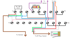wiring diagrams nte5 telephone wall socket phone line