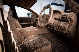 lexus hoverboard car discover the drivable origami inspired car made out of cardboard
