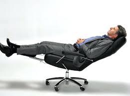 office recliner chair leather modern reclining office chair josh