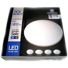 led ceiling dome light nationstar 22w led neutral white ceiling dome light 240v 40wcfl safe