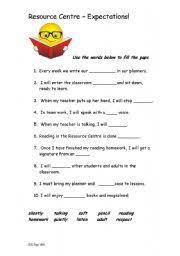 english worksheets library quiz