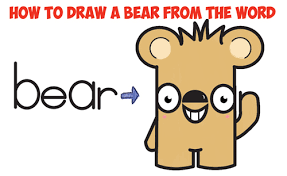 bears archives draw step step drawing tutorials