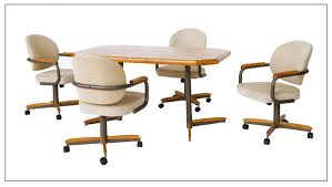 chromcraft swivel tilt caster chairs are back on display now