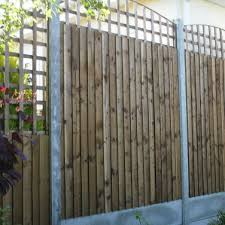 Fence Panels With Trellis Fencing Services In Chigwell