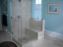 Bathroom Shower Chair Built In Seat Shower Bathroom Reno Ideas Pinterest Bath Room