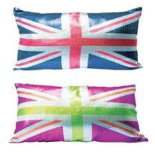 Blue Union Jack Cushion Cushions Lounge U0026 Dining