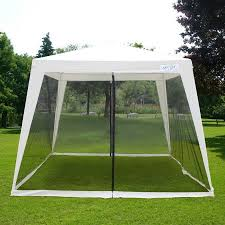 Sunshade Awning Gazebo Quictent Outdoor Canopy Gazebo Party Wedding Tent Screen House Sun
