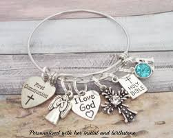 goddaughter charm communion charm bracelet goddaughter gift personalized