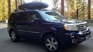 2013 honda pilot crossbars to get serious need rooftop luggage box 2013 pilot honda