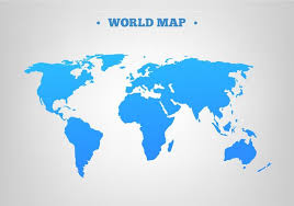 world maps free free vector blue world map free vector stock