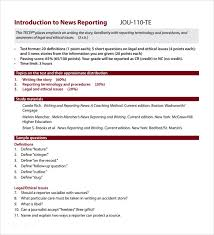 what is a report template sle news report 7 documents in pdf