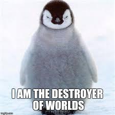 Cute Penguin Meme - th id oip lss2bzun8fj0usxp2dbt ghaha