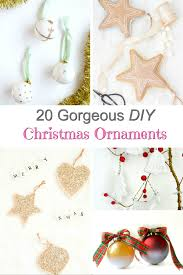 20 gorgeous diy ornaments to make now shabbyfufu