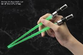 cool light up things kotobukiya star wars yoda light up version lightsaber chopsticks