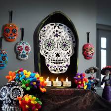 sugar skulls home decor day of the dead