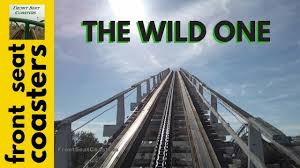 Six Flags Pg County The Wild One Pivothead Pov Six Flags America 2016 Roller Coaster