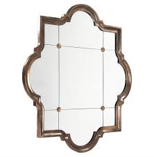 Large Mirror Size Marissa Quatrefoil Antique Bronze Large Mirror Kathy Kuo Home