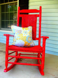 Outdoor Rocking Chair 7 U2013 July 2011 Lady With The Red Rocker