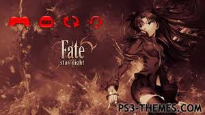theme psp fate stay night ps3 themes comics anime page 6