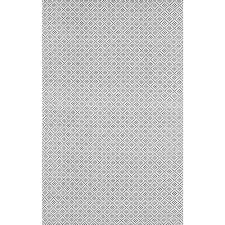 nuloom diamonds cotton trellis grey 9 ft x 12 ft area rug hmco5e