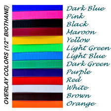 color combo halter lead made from beta biothane any 2 color combo