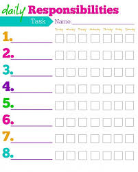 daily task template daily employee schedule template free daily
