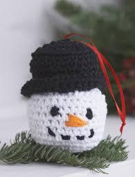 amigurumi ornaments crochet pattern yarnspirations