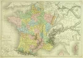 France Maps by Map Of France 1884 Original Art Antique Maps U0026 Prints