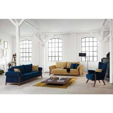 living room loveseats round blue sofas loveseats living room furniture the home