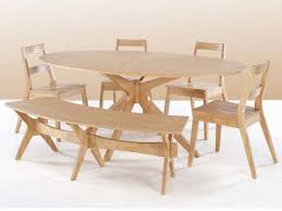 Oval Kitchen Table With Bench Oval Kitchen Tables Set U2014 Desjar Interior How To Spring On