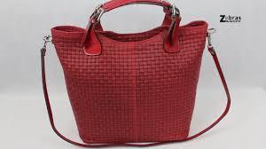 genti piele handmade geanta rosie piele naturala model impletitura ulrike zebras ro