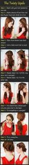 nice updo hairstyles tutorials braid twist updo updo tutorial