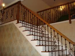 home depot stair railings interior wrought iron step railing astonishing home interior and exterior