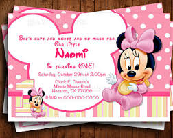 baby minnie mouse etsy