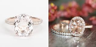 etsy diamond rings images 15 romantic morganite engagement rings jpg