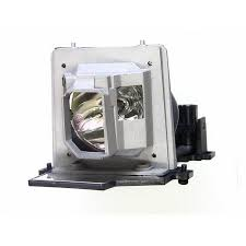 optoma ep719 projector housing with genuine original oem bulb