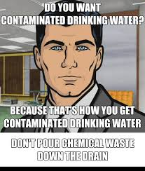 Meme Posters - proper chemical waste disposal posters memes the green