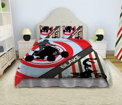 Custom Made Comforters Motocross Comforter Dirt Bike Bedding Motocross Bedding